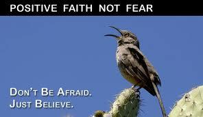 Fear as positive energy