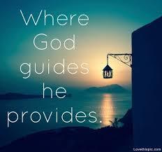 God guides