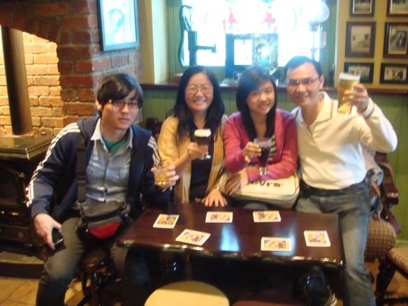 Family Drinking