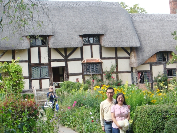 The house of Shakespeare's mother (Mary Arden)