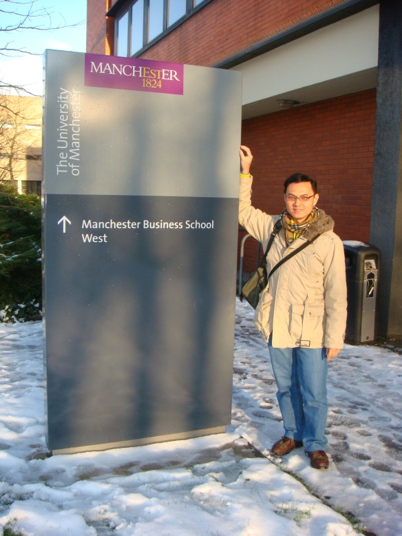 Manchester Business School is part of my memories