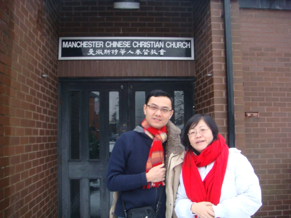 Visit my second home - Manchester Chinese Christian Church at Yarburgh Street, Whalley Range