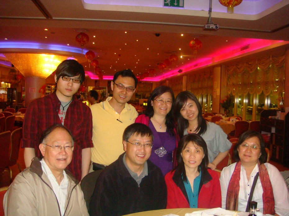 Reunion with Elder Eric Sau Ngor and Pastor Kim Lau and Josephia