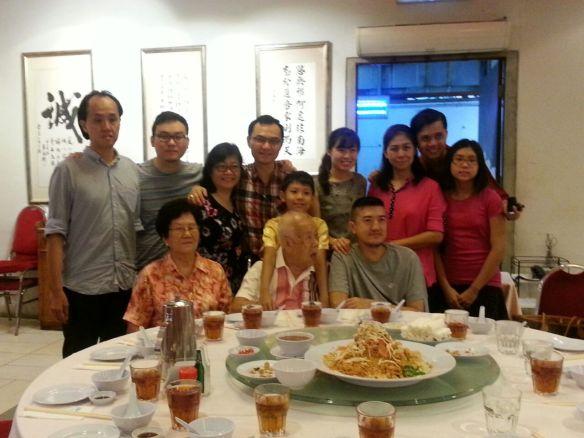 CNY 2015 Reunion Dinner